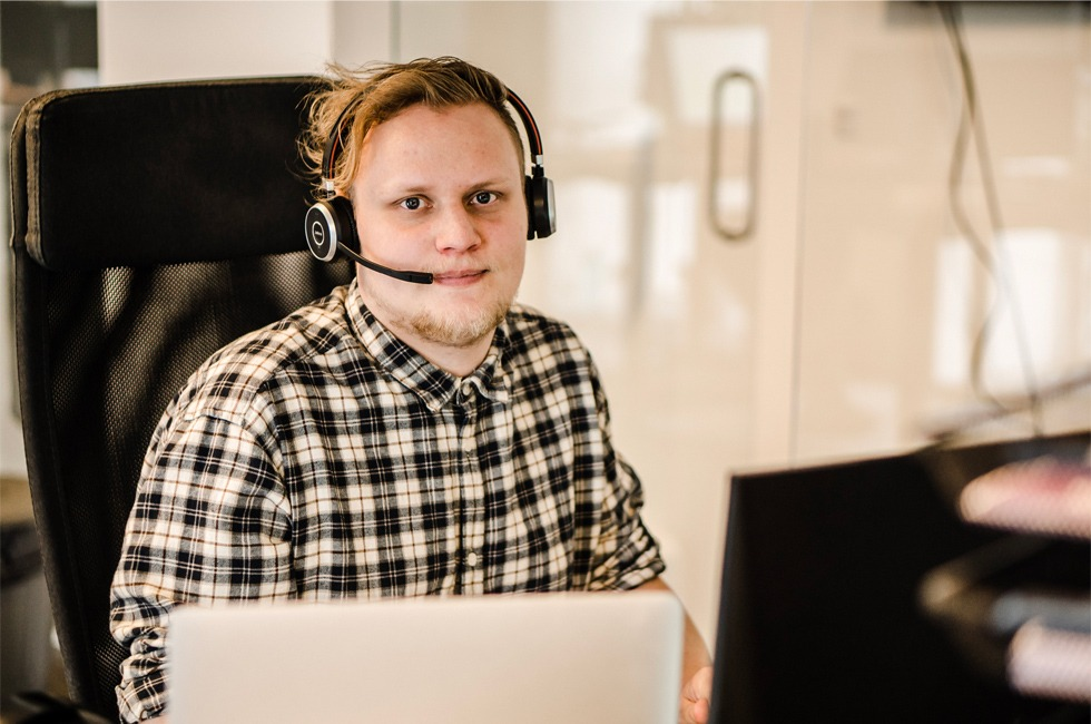 Webdesigner Jonas webbureau århus